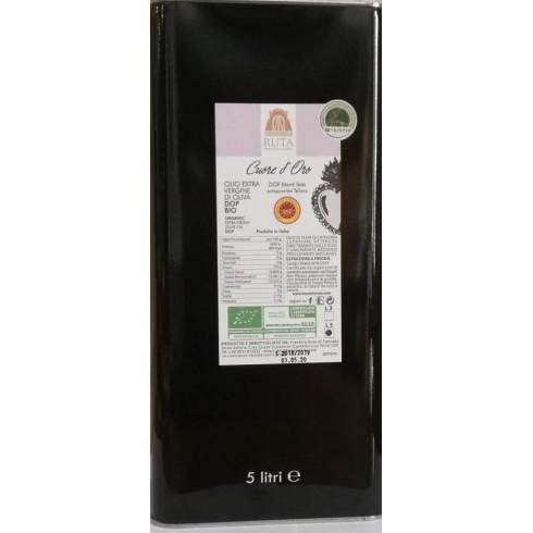 """Olio Extravergine d'oliva """"DONNA VALERIA"""" Organic 5 l. - Frantoio Ruta"""