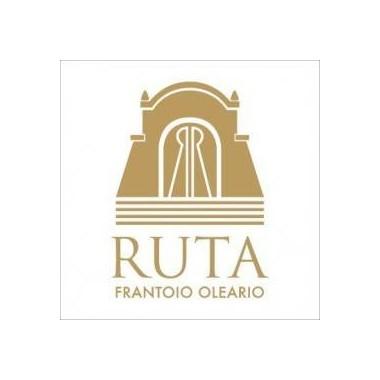 """Olio Extravergine d'oliva """"Cuore d'Oro"""" DOP Bio Latta Lt.5 -  Frantoio Ruta"""