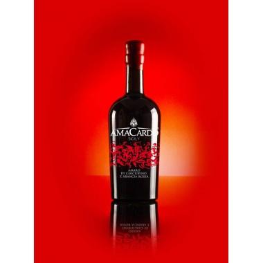 Amaro di arancia e carciofino dell'Etna - Amacardo Sicily