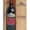 Le Focaie Maremma Toscana D.O.C. - Rocca di Montemassi - Db. Magnum in original wooden box.