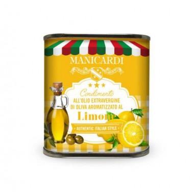 Condimento all'Olio Extra Vergine di Oliva aromatizzato al Limone - Manicardi