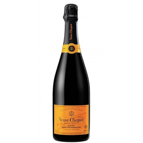 Champagne Brut Yellow Label - Cuvée Saint -Petersbourg - Veuve Clicquot Ponsardin