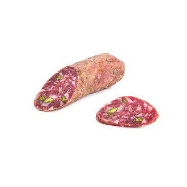 Salame di piro suino con Pistacchio di Bronte DOP - Palermo