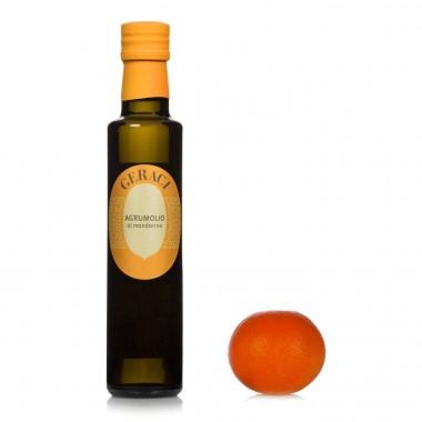 Agrumolio al mandarino Olio Extra Vergine d'oliva- Geraci
